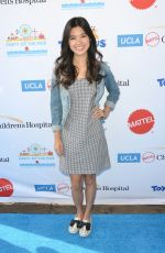 TIFFANY ESPENSEN at Mattel Party on the Pier in Santa Monica 11/05/2017
