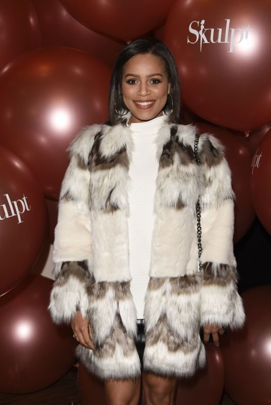 TISHA MERRY at Skulpt Non Surgical Clinic Party in Liverpool 11/19/2017
