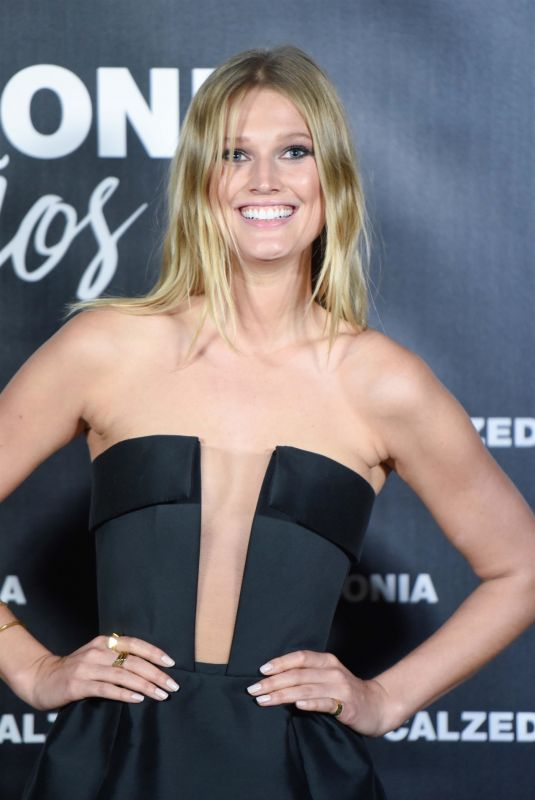 TONI GARRN at 25th Calzedonia Anniversary Party in Madrid 11/23/2017