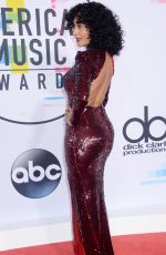 TRACEE ELLIS ROSS at American Music Awards 2017 at Microsoft Theater in Los Angeles 11/19/2017