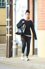 TRACEE ELLIS ROSS Heading to a Gym in Los Angeles 11/24/2017