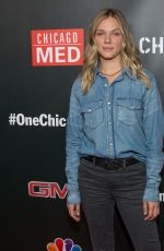 TRACY SPIRIDAKO at 3rd Annual NBC One Chicago Party in Chicago 10/31/2017