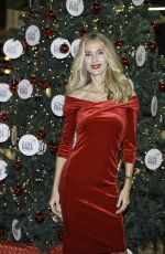 VANESA LORENZO at Duty Free Christmas Tree Lighting at Madrid Airport 11/16/2017