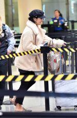 VANESSA HUDGENS at Los Angeles International Airport 11/07/2017