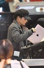 VANESSA HUDGENS at Los Angeles International Airport 11/19/2017