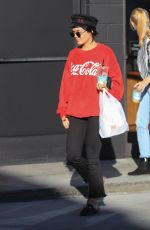 VANESSA HUDGENS Out in Los Angeles 11/06/2017