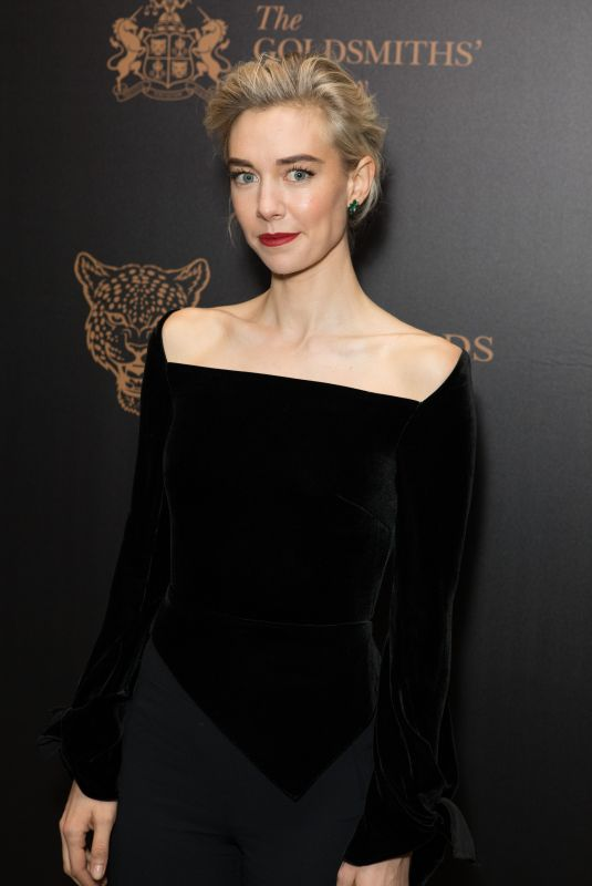 VANESSA KIRBY at Leopard Awards in Aid of the Prince's Trust in London 11/15/2017