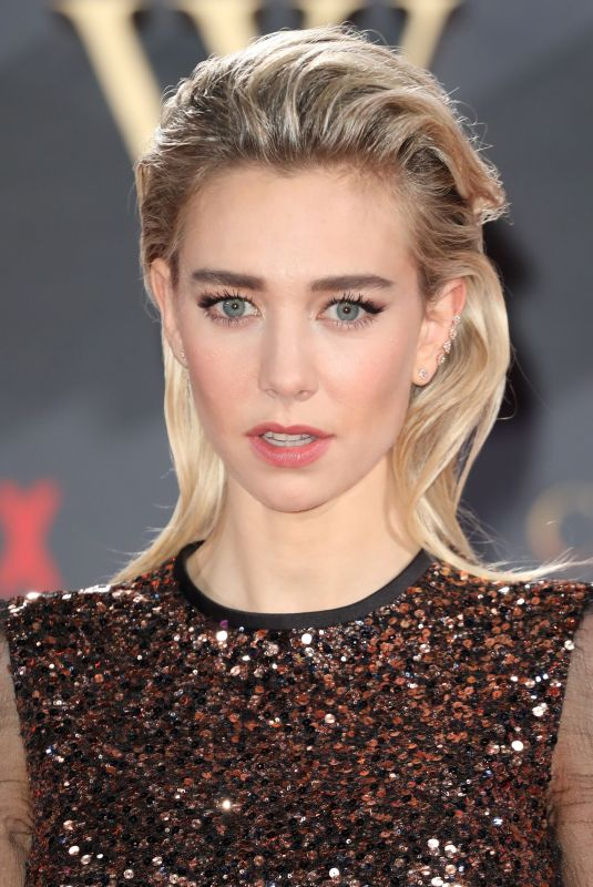 VANESSA KIRBY at The Crown Season 2 Premiere in London 11/21/2017