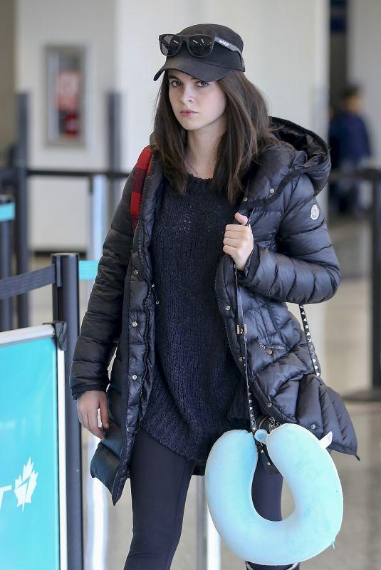 VANESSA MARANO at LAX Airport in Los Angeles 11/20/2017