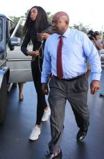 VENUS WILLIAMS Arrives to Give Deposition Over Fatal Car Crash in Palm Beach 11/09/2017