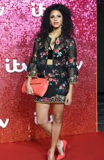 VICK HOPE at ITV Gala Ball in London 11/09/2017