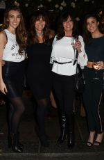 VICKI and LOUISE MICHELLE at Forty Dean Street Relaunch Party in London 11/01/2017