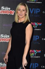 VICKY GOMERSALL at An Evening with the Stars in London 11/08/2017