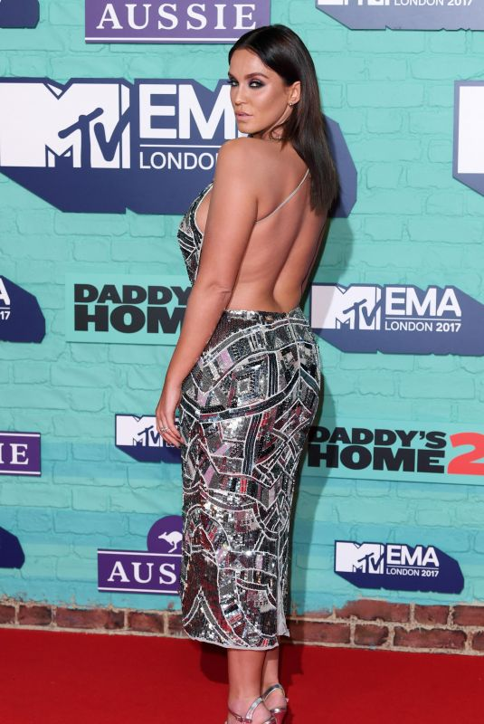 VICKY PATTISON at 2017 MTV Europe Music Awards in London 11/12/2017