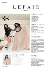 VICTORIA JUSTICE and MADISON REED in LeFair Magazine, Fall 2017