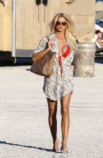 VICTORIA SILVSTEDT at a Beach in Miami 11/24/2017