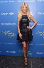 VICTORIA SILVSTEDT at Call Me by Your Name Screening in New York 11/16/2017