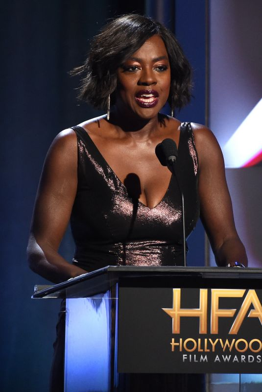 VIOLA DAVIS at 2017 Hollywood Film Awards in Beverly Hills 11/05/2017