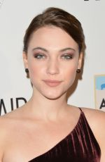 VIOLETT BEANE at An Evening with Wildaid in Beverly Hills 11/11/2017