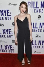 VIOLETT BEANE at Bill Nye: Science Guy Premiere in Los Angeles 11/07/2017