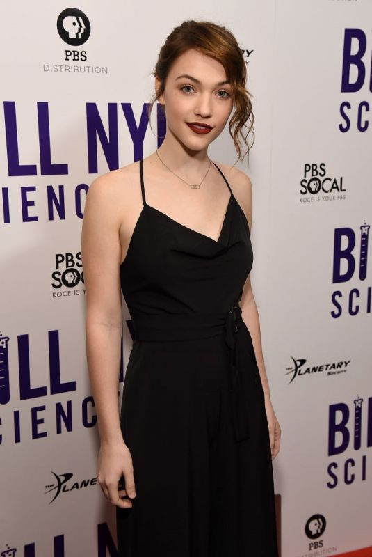 VIOLETT BEANE at Bill Nye: Science Guy Premiere in Los Angeles 11/07/2017