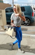 WITNEY CARSON Arrives at Dancing with the Stars Rehersal in Los Angeles 11/03/2017