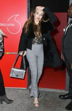 XENIA TCHOUMITCHEVA at Vodafone Passes Launch in London 11/01/2017