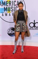 YARA SHAHIDI at American Music Awards 2017 at Microsoft Theater in Los Angeles 11/19/2017
