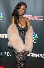 YAVA DACOSTA at 3rd Annual NBC One Chicago Party in Chicago 10/31/2017
