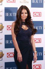 YAZMIN OUKHELLOU at OK! Magazine Beauty Awards in London 11/28/2017