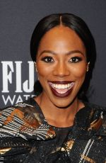 YVONNE ORJI at HFPA & Instyle Celebrate 75th Anniversary of the Golden Globes in Los Angeles 11/15/2017