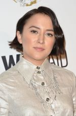 ZELDA WILLIAMS at An Evening with Wildaid in Beverly Hills 11/11/2017