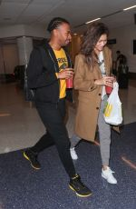 ZENDAYA COLEMAN at Los Angeles International Airport 11/22/2017