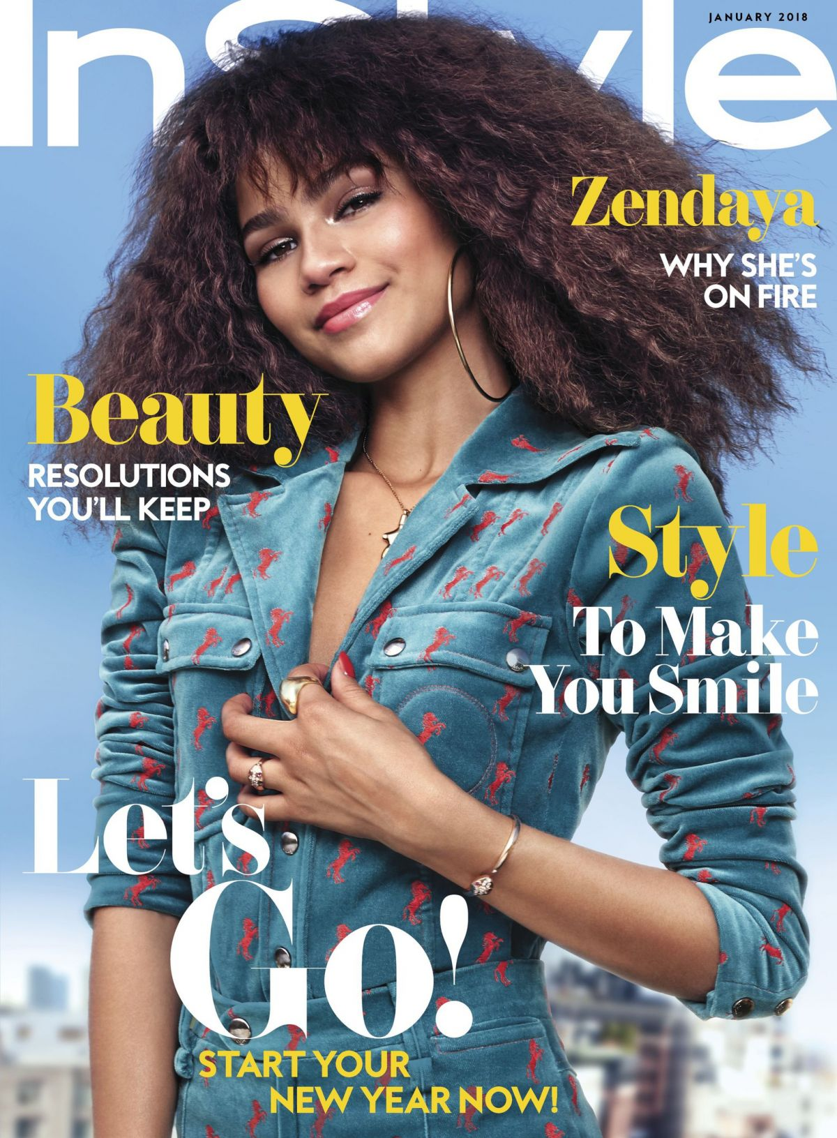 Zendaya Coleman For Instyle Magazine January 2018 Hawtcelebs
