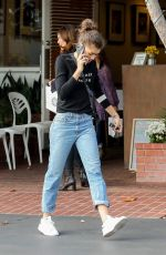 ZENDAYA COLEMAN Out for Lunch at Mauro