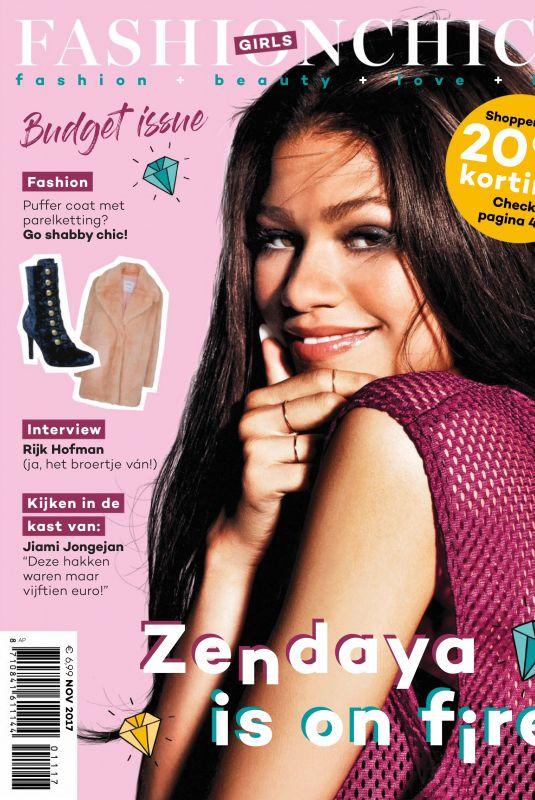 ZENDAYA in Fashionchick Girls Magazine, November 2017 Issue