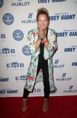 ZOE BELL at Elysium Bandini Studios Presents Obey Giant in Los Angeles 11/07/2017