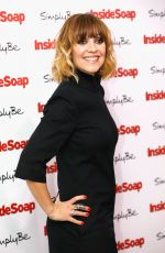 ZOE HENRY at Inside Soap Awards 2017 in London 11/06/2017