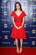 ZOE KAZAN at 2017 IFP Gotham Independent Film Awards in New York 11/27/2017