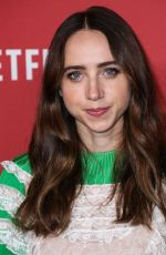ZOE KAZAN at Sag-Aftra Foundation Patron of the Artists Awards in Beverly Hills 11/09/2017
