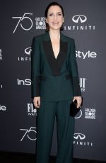 ZOE LISTER-JONES at HFPA & Instyle Celebrate 75th Anniversary of the Golden Globes in Los Angeles 11/15/2017