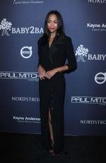 ZOE SALDANA at 2017 Baby2baby Gala in Los Angeles 11/11/2017