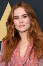 ZOEY DEUTCH at Academy Nicholl Fellowships Live Read in Beverly Hills 11/02/2017