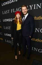 ZOEY DEUTCH at Last Flag Flying Premiere in Los Angeles 11/01/2017