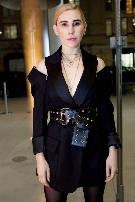 ZOSIA MAMET at 2017 Whitney Art Party in New York 11/14/2017
