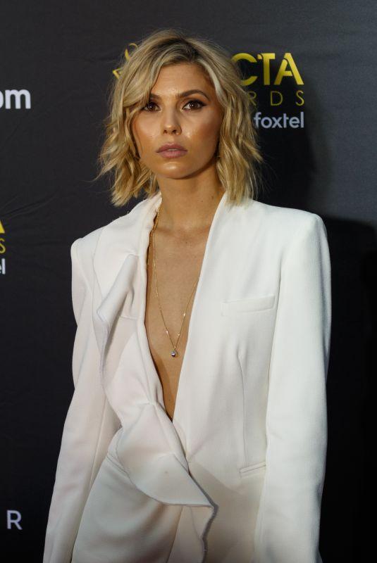 ABBEY EARL at 2017 AACTA Awards in Sydney 12/06/2017