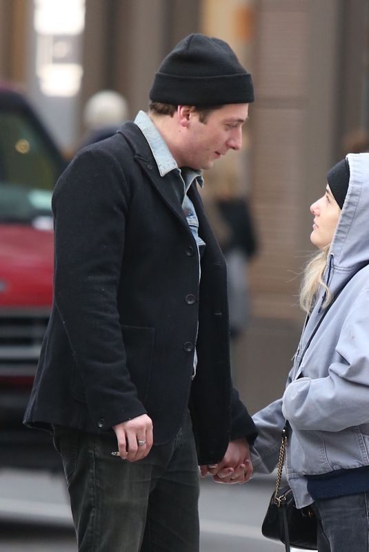 ADDISON TIMLIN and Jeremy Allen Out in New York 12/12/2017