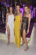 ADRIANA LIMA and PETRA NEMCOVA at Creatures of the Night Late-Night Soiree in Miami 12/05/2017