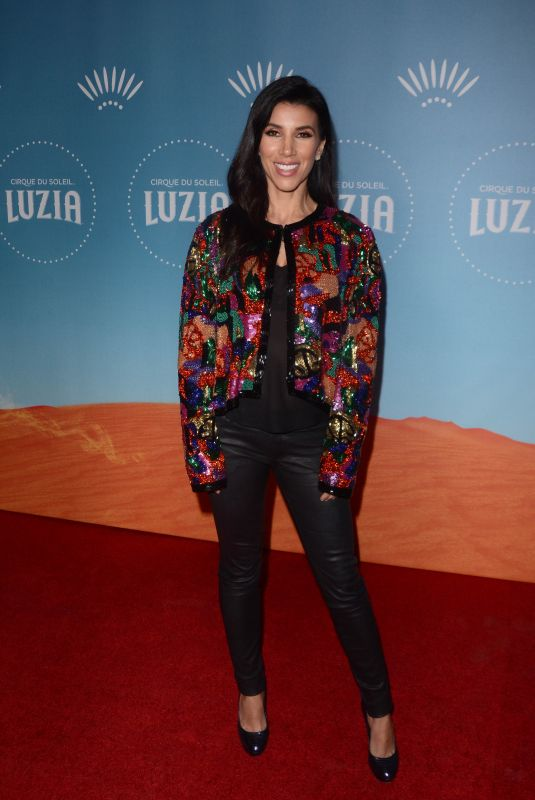ADRIANNA COSTA at Cirque Du Soleil Presents Luzia at Dodger Stadium in Los Angeles 12/12/2017