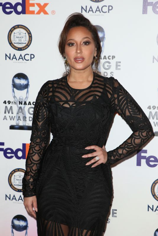 ADRIENNE BAILON at 49th Naacp Image Awards Nominees Luncheon in Beverly Hills 12/16/2017
